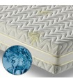 Mattress in fresh polargel H22 cm with aloe fabric - MEMO POLAR MADE IN ITALY