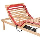 Slatted bed base electric models